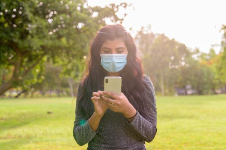 4- Maskenizdeki hava geçirgenliğini test edin