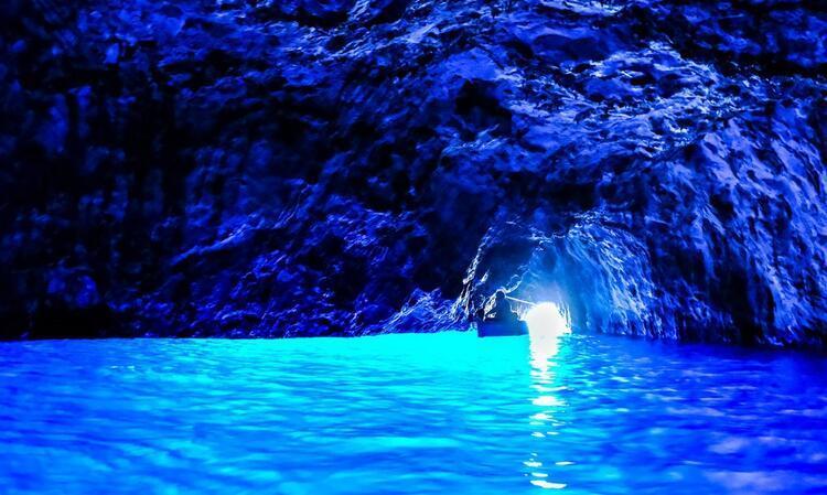 Blue Grotto - İtalya