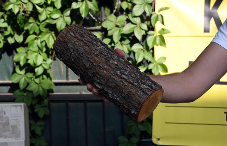 Halil Sezai'yi elindeki odun yaktı - Magazin Haberleri