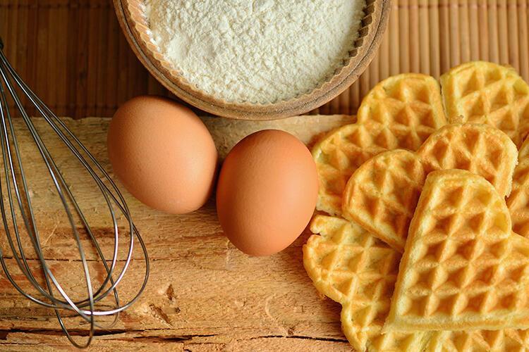 Yumurtalı waffle-Hong Kong