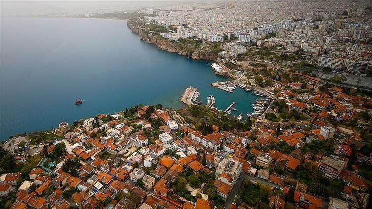1. sıradaki il Antalya