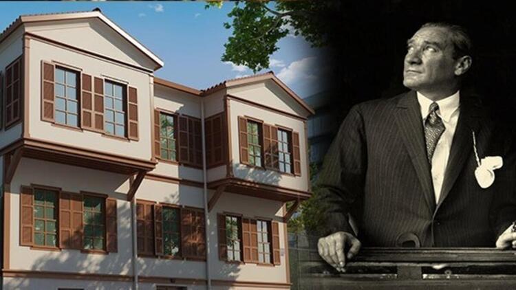 Atatürkün doğduğu ev nerede