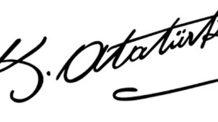 Atatürk imzası