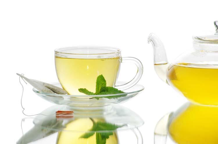 Oolong ve rooibus çayı