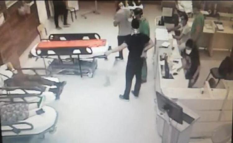 İzmir'de biri kadın 2 doktor ile polisi darp ettiler