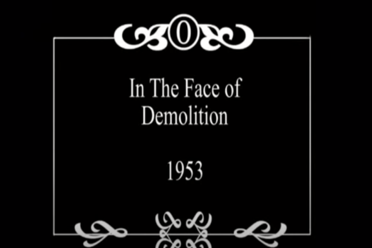 In The Face of Demolition
