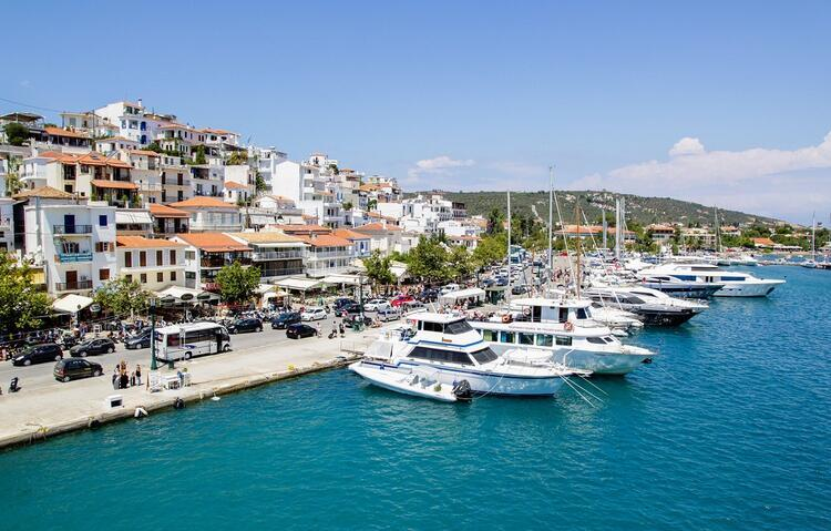 6- Skiathos (İskados) / Yunanistan