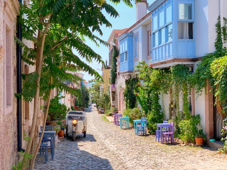 Ege Deniz'inin en güzel adası