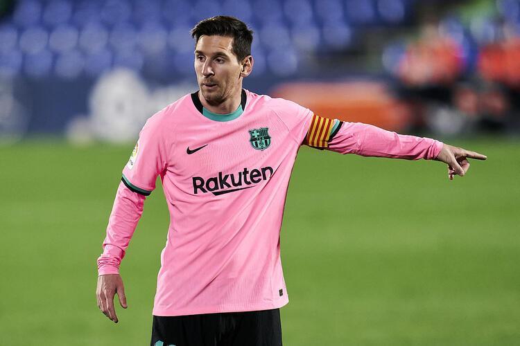 Lionel Messi - Haftalık 1.7 milyon Pound