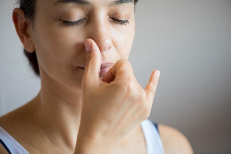1. Eşit nefes tekniği