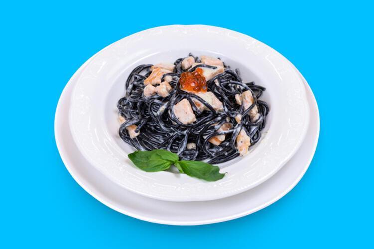 Spaghetti Alla Chitarra Al Nero