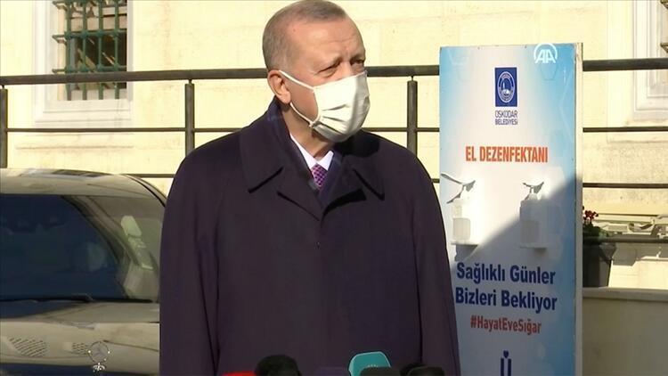 Erdoğan: Şu anda Sağlık Bakanlığımızın da attığı adımlarla (Koronavirüs) tedbirleri almaya mecburuz ve alacağız