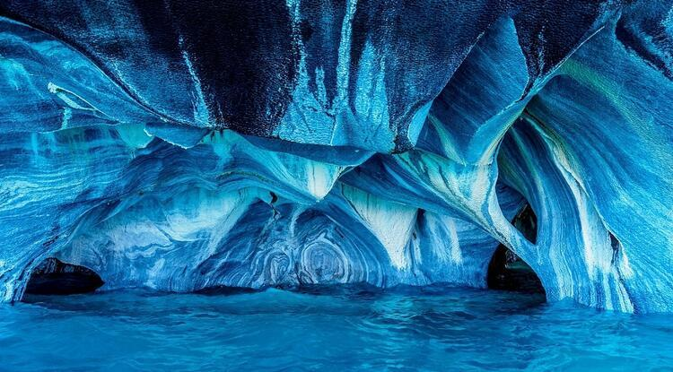 Şili, Mermer Mağaralar
