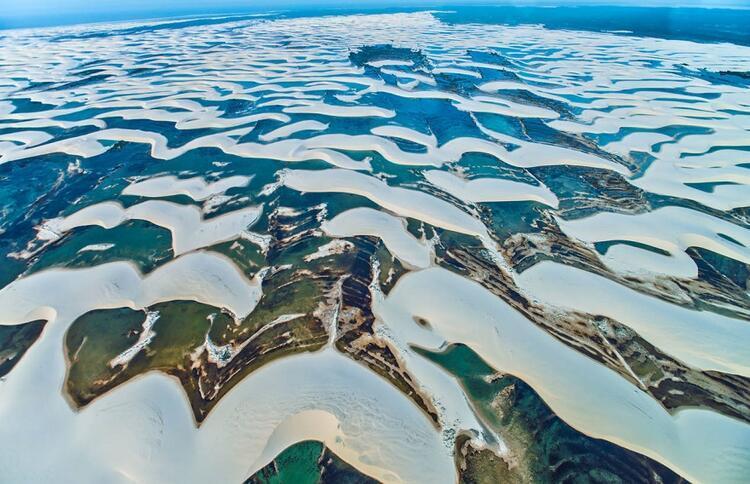 Brezilya, Lençois Maranhenses Ulusal Parkı