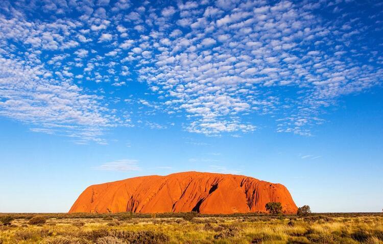 Avusturalyada ek Parça Uluru Anıtı