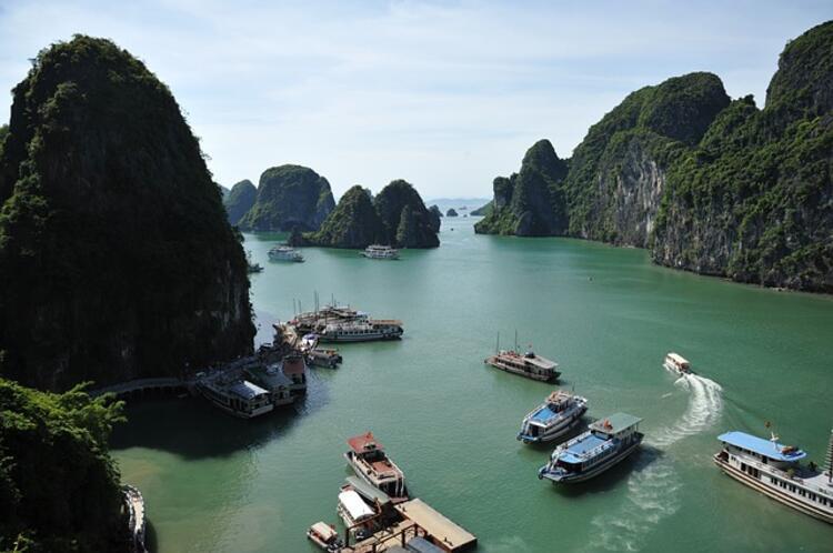 Vietnam, Ha Long Körfezi