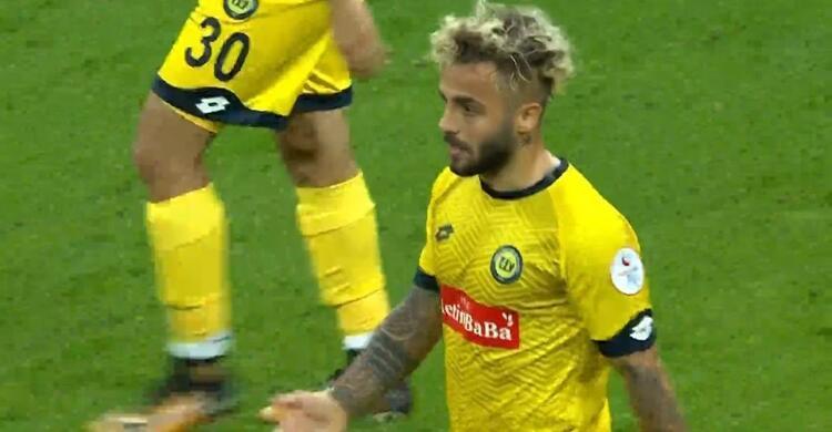 Beşiktaşa gol atarak kendisini hatırlattı