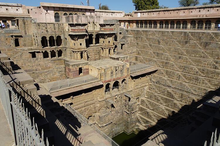 Chand Baori-Hindistan
