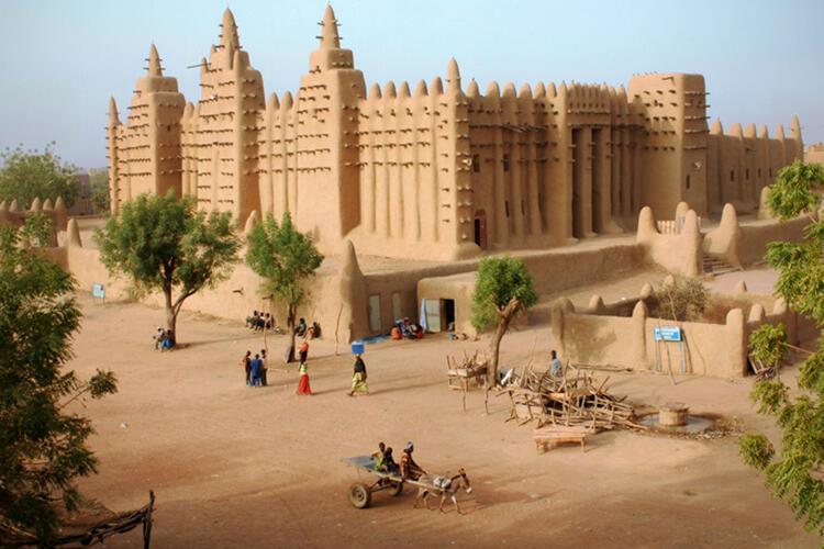 Büyük Djenne Camii-Mali