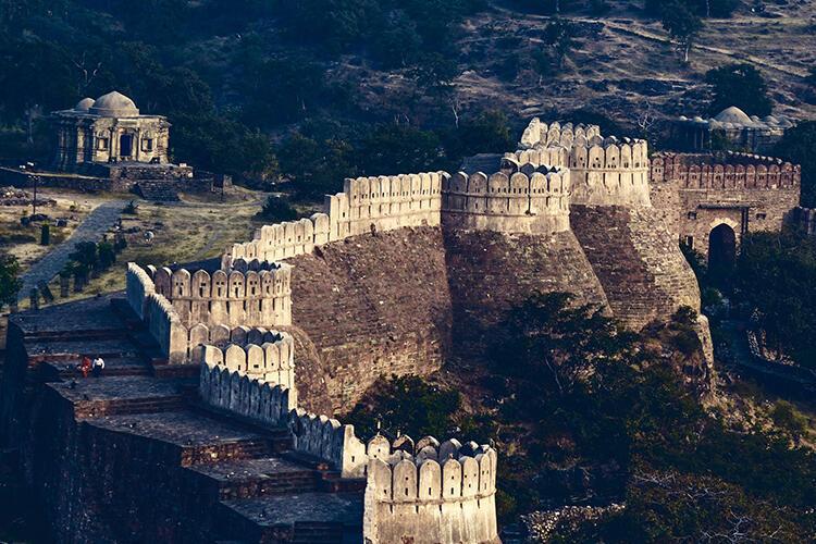 Kumbhalgarh Kalesi- Hindistan