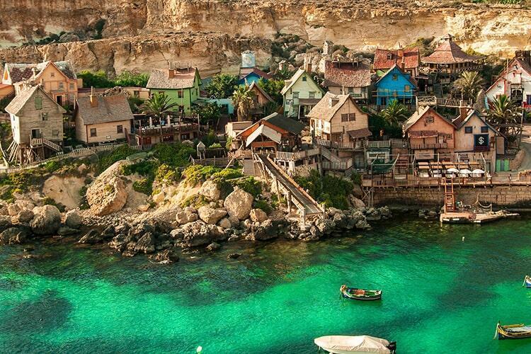Popeye Köyü-Malta