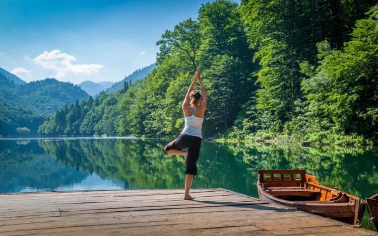 Yoganın en önemli faydası, fit olmaktır