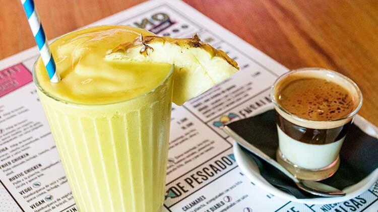 Bonbon kahvesi, İspanya