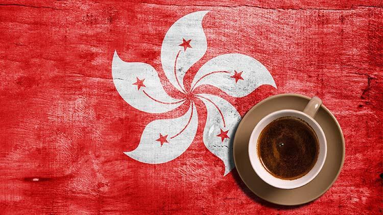 Çaylı kahve, Hong Kong