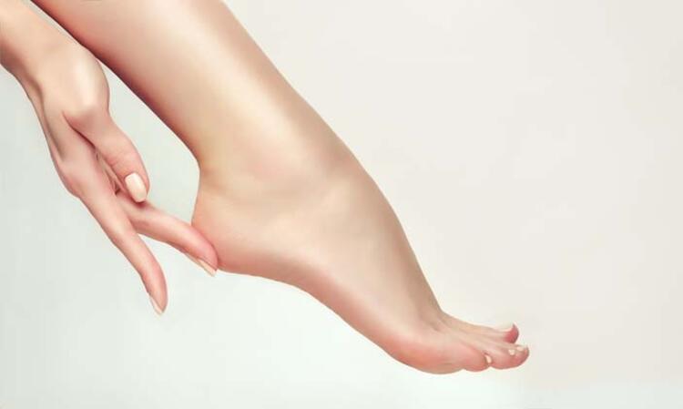 Ayaklarınızın de neme ihtiyacı var