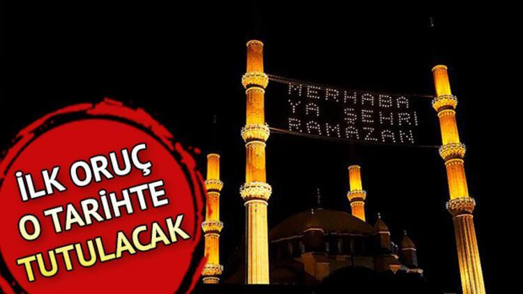 Ramazan Ne Zaman Basliyor Iste Diyanet 2021 Ramazan Ayi Takvimi Ve Ilk Oruc Tarihi Son Dakika Haber