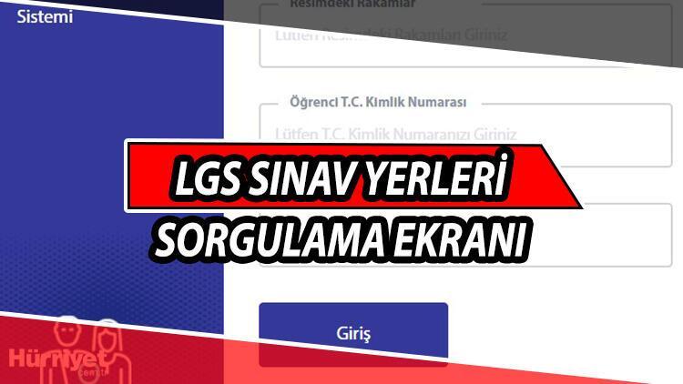E-OKUL giriş: LGS sınav yerleri sorgulama! E-Okul LGS sınav giriş yerleri öğrenme ekranı 13