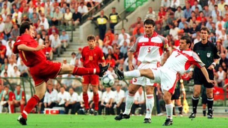 Belçika 0-2 Türkiye (2000 Avrupa Şampiyonası)