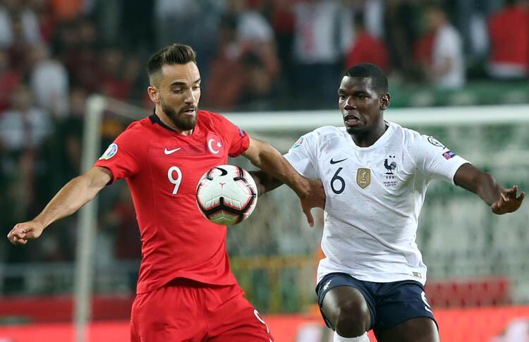 Türkiye 2-0 Fransa (2020 Avrupa Şampiyonası Elemeleri)