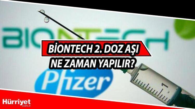 Biontech 2. doz ne zaman olmalı? İşte Biontech 2. doz hakkında merak edilenler 15