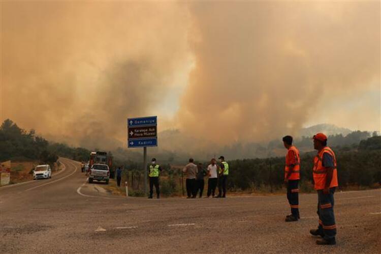 Osmaniye'de yangın - Son Dakika Haber