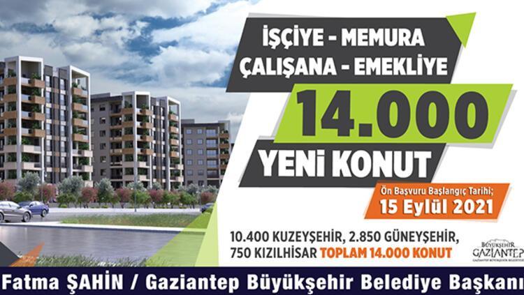 TOKİ Gaziantep başvurusu nasıl yapılır? Gaziantep Büyükşehir  Belediyesi'nden 14 bin konut! - Son Dakika Haberleri İnternet