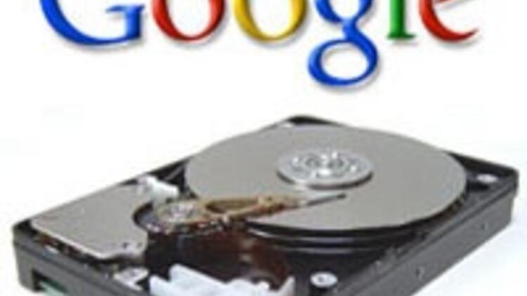 Dosyalar Google'a emanet