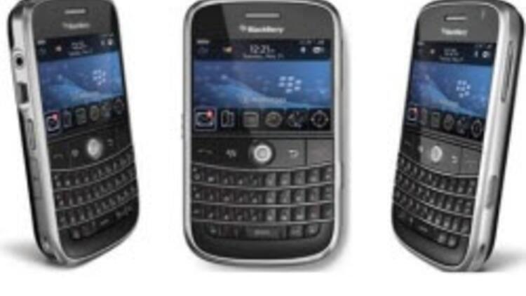 BlackBerry'de internet şoku