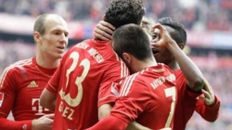 Bayern Münih '7' bitirdi, fark 5'e indi