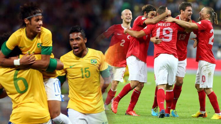Türkiye - Brezilya maçı hangi kanalda, ne zaman?