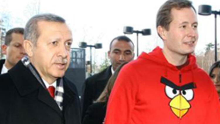 Erdoğan Kızgın Kuşu ziyaret etti