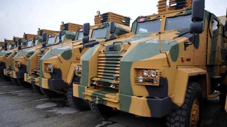 TSK 'zırhlı' için milyonlar harcıyor