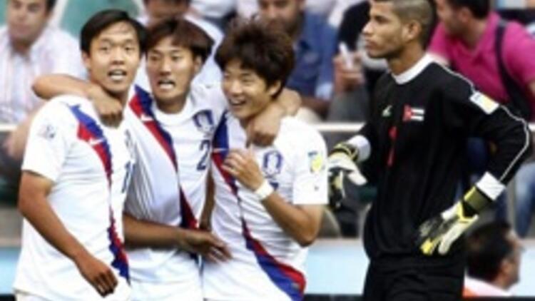 Çakır'ın maçında Kore güldü