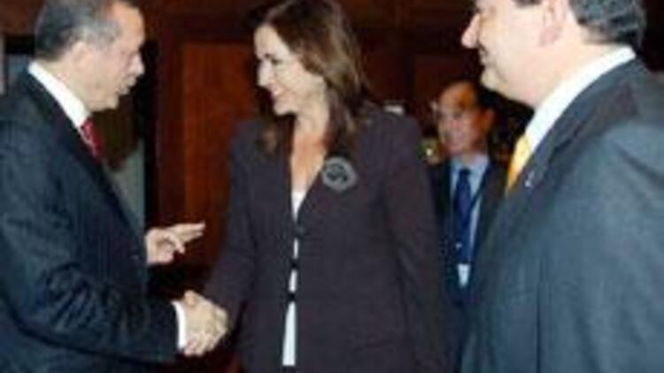 Erdoğan, Karamanlis ile görüştü