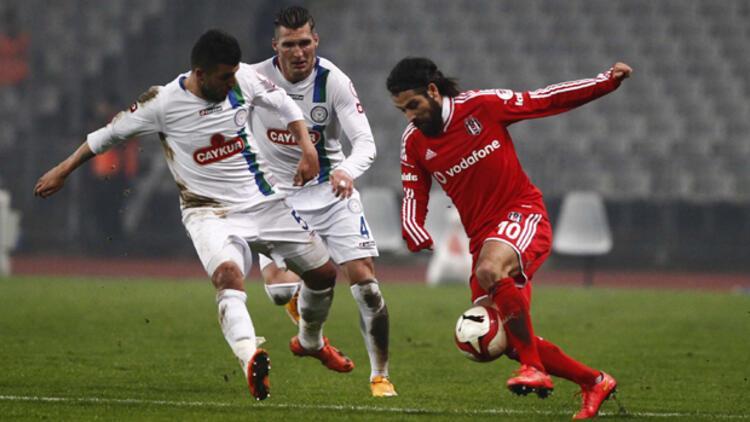 Beşiktaş 0 - 1 Çaykur Rizespor