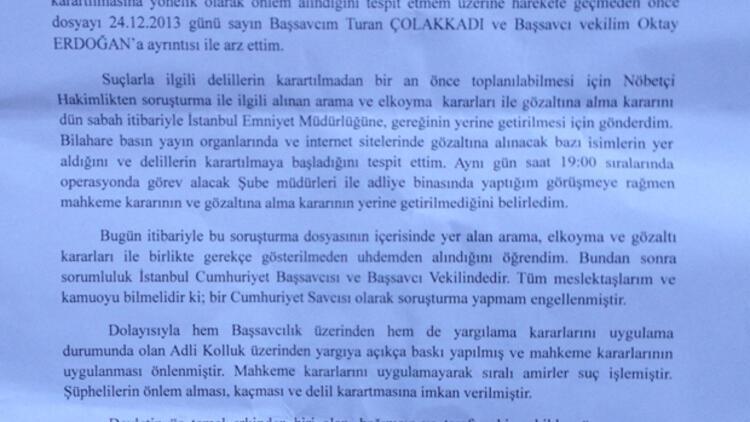 İkinci dalga savcısı Muammer Akkaş'tan 'dosya' açıklaması