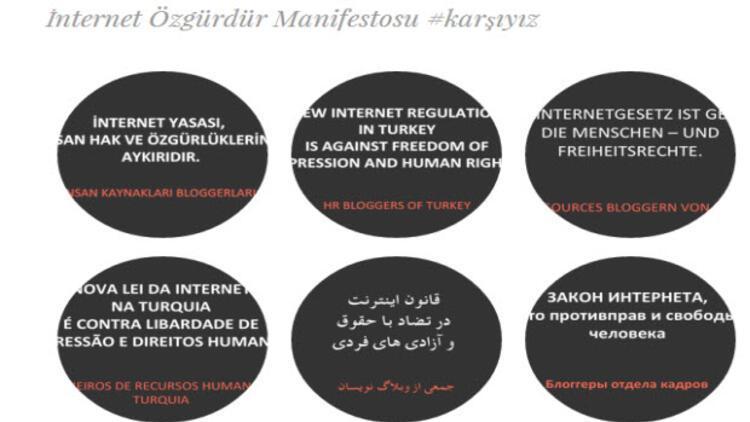 Blog yazarlarından internet yasasına tepki