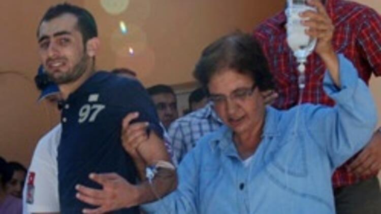 Suriyeliler, kimlik soran polisi tabancayla vurdu