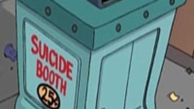 Dehşet verici intihar robotu