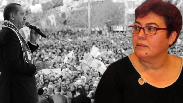 Erdoğan'a balkondan ayakkabı kutusu gösteren kadın gözaltına alındı